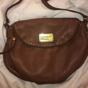 Brown Marc Jacobs Natasha crossbody bag